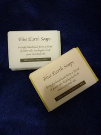 All natural soap and shampoo from Blue Earth Soaps