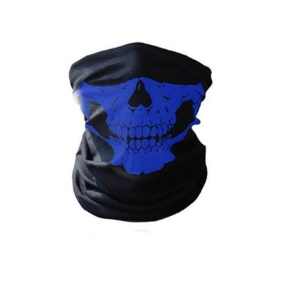 Biker Skeleton Skull Face Mask BMX Face Snood Face Mask Ski Bandana