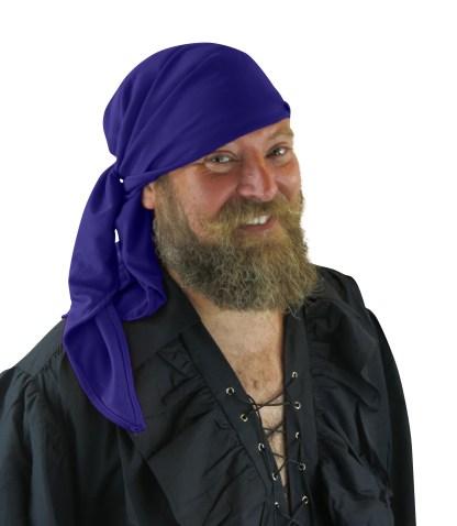Pirate Bandanna Medieval Renaissance Caribbean Fancy Dress Accessory