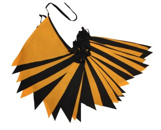 12m Halloween single sided fabric bunting