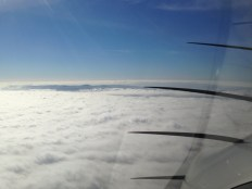 Catalina Poking through the Marine Layer 2012