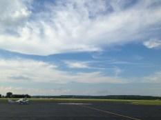Landed in Lawrence, Kansas