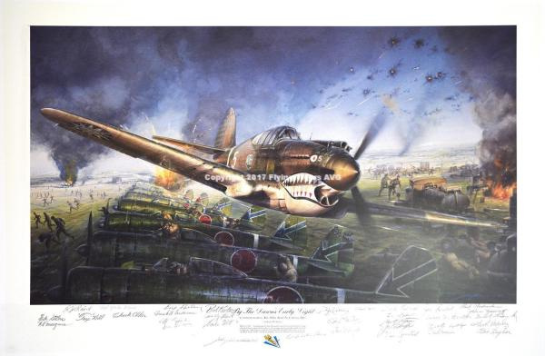 By The Dawn's Early Light by John Shaw | Flying Tigers AVG