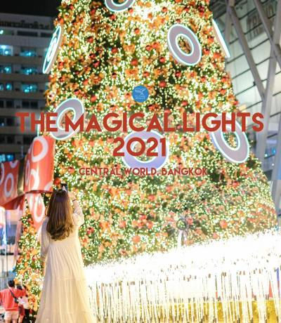 The Magical Lights 2021 central world