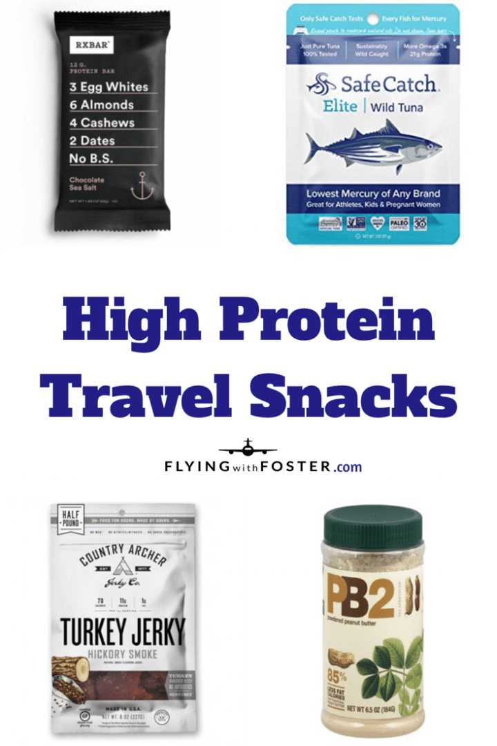 High Protein Travel Snacks