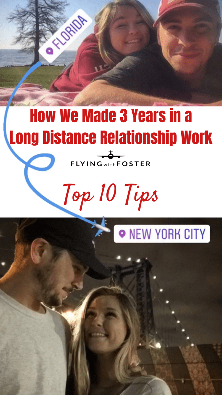How We Made 3 Years in a Long Distance Relationship Work