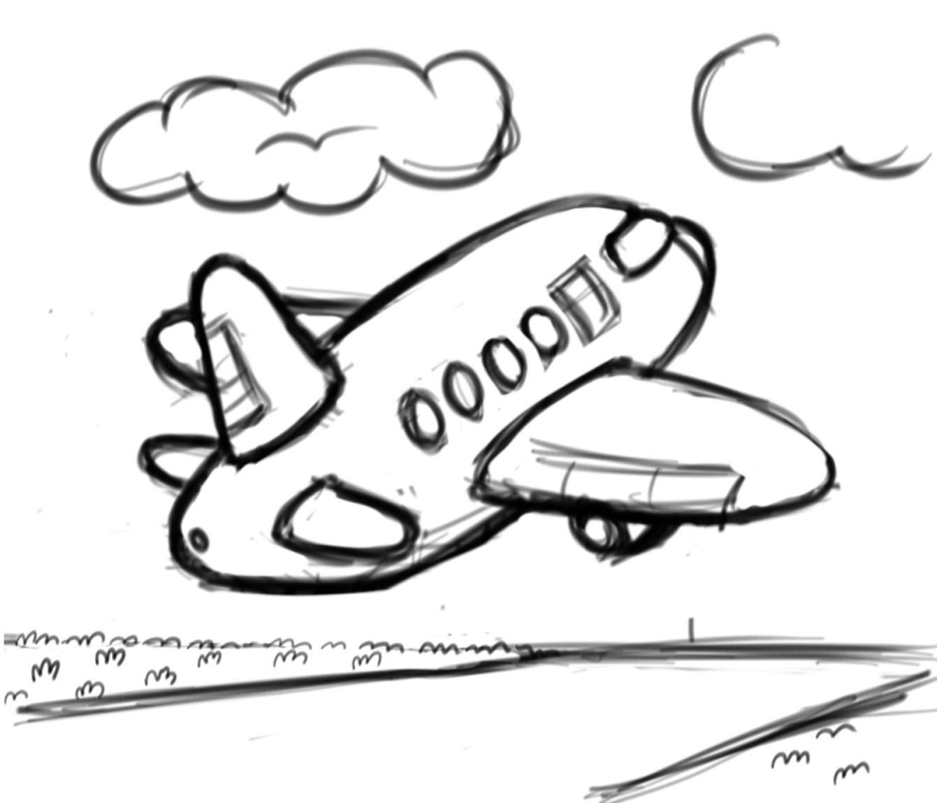 Coloring A Child S Airport Experience