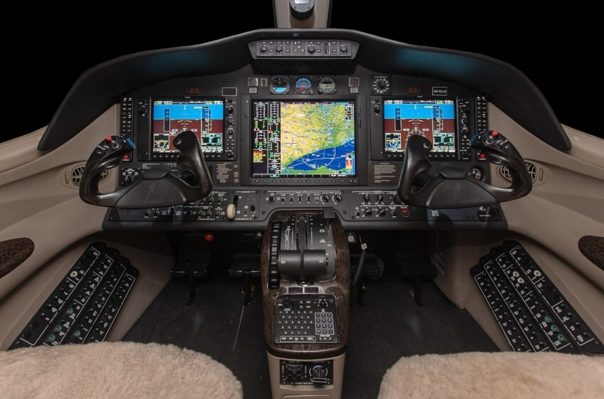 Citation Mustang Cockpit
