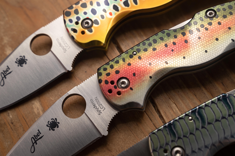 Product Spotlight: Abel Reels + Spyderco Native 5 Knives - Flylords Mag