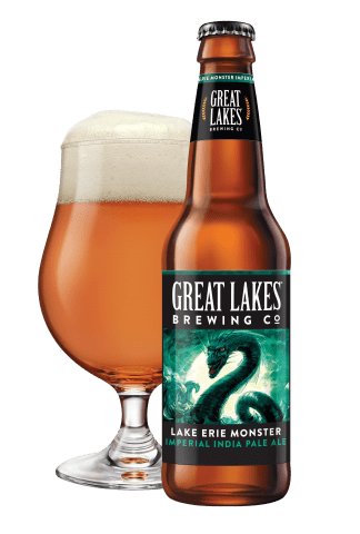 best beer to take fishing great lakes lake erie monster IPA