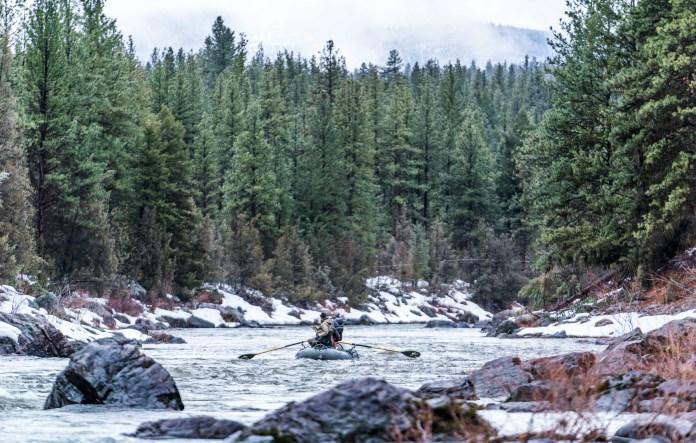 Fly Fishing Little Blackfoot River