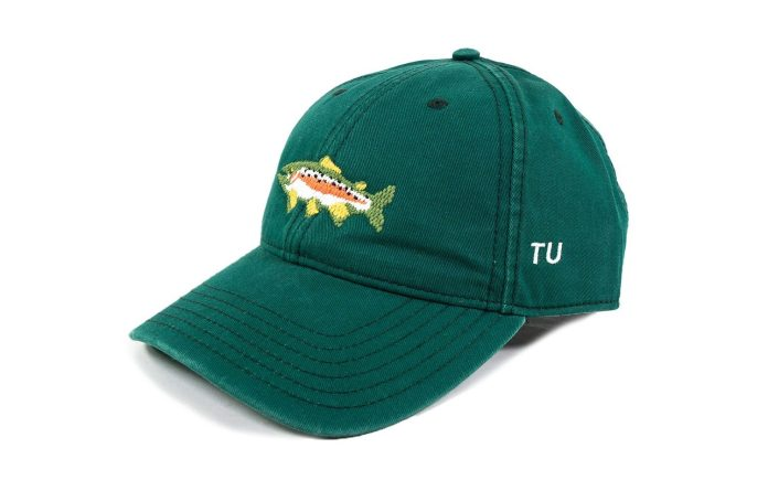 Flylords Needlepoint Trout Hat