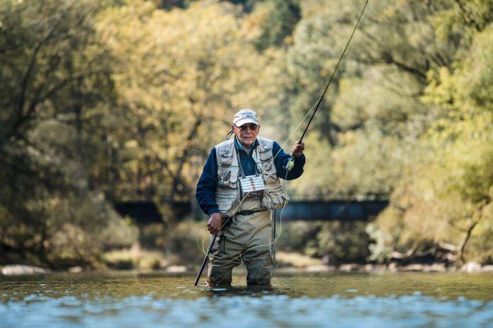 joe fishing