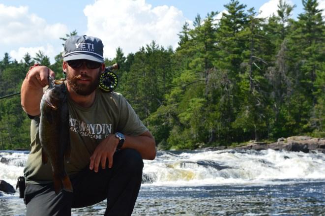 bass on the petawawa river