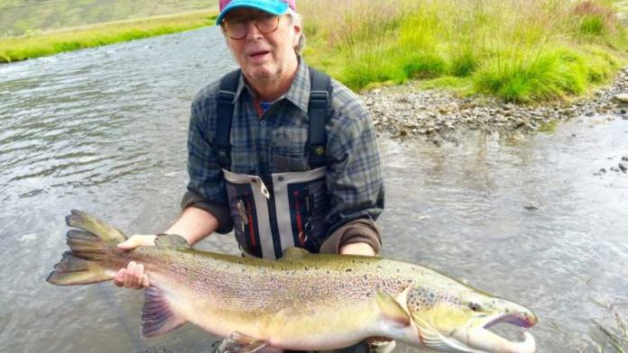 Eric Clapton's Two Record-Setting Icelandic Salmon thumbnail