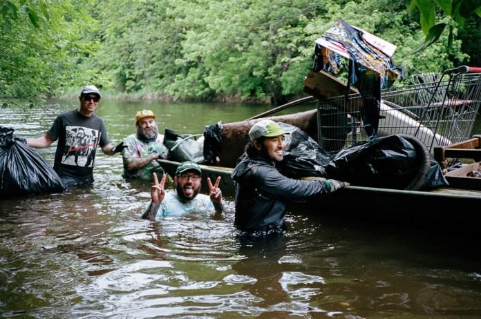 Dan Santoro river clean up pig farm ink