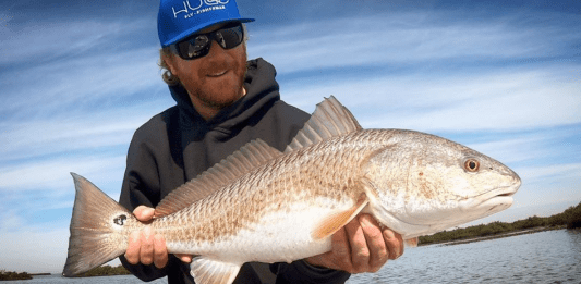 ben sittig with red fish