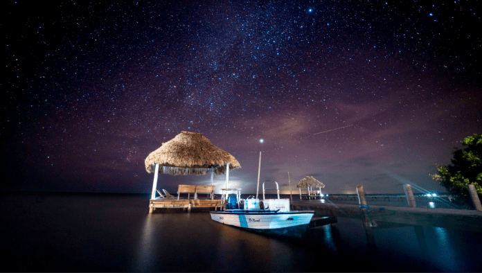 nightime belize fly fishing