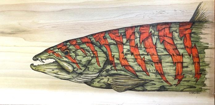 Jake Keeler Saber Toothed Salmon