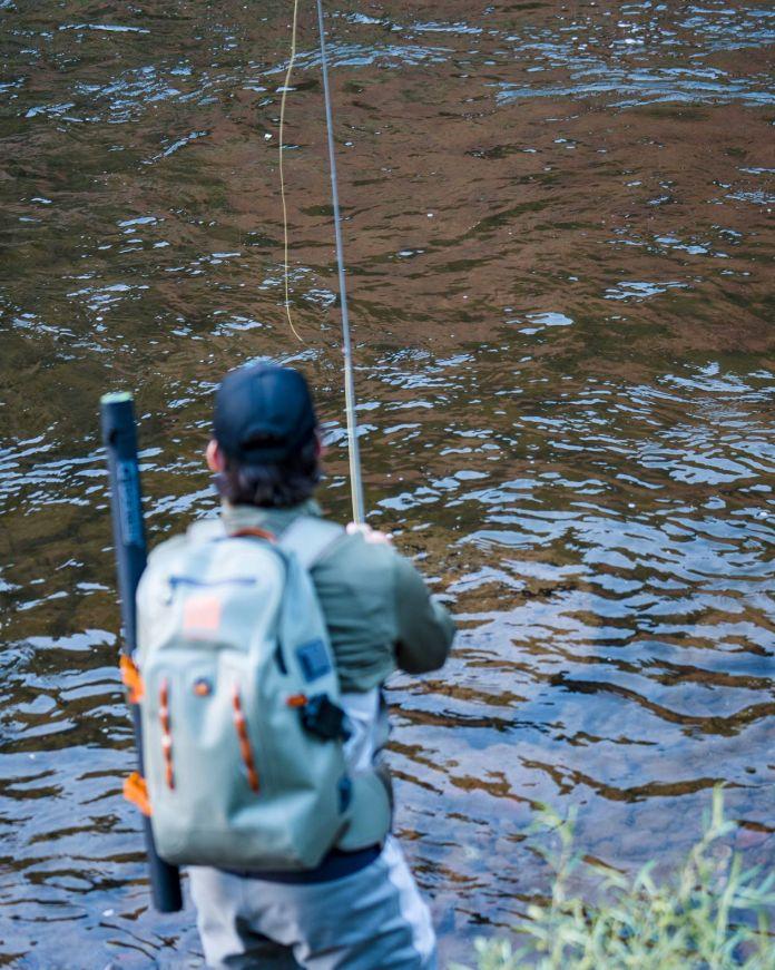 fishing an indicator