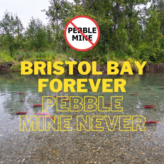 Bristol Bay Forever Pebble Mine Never