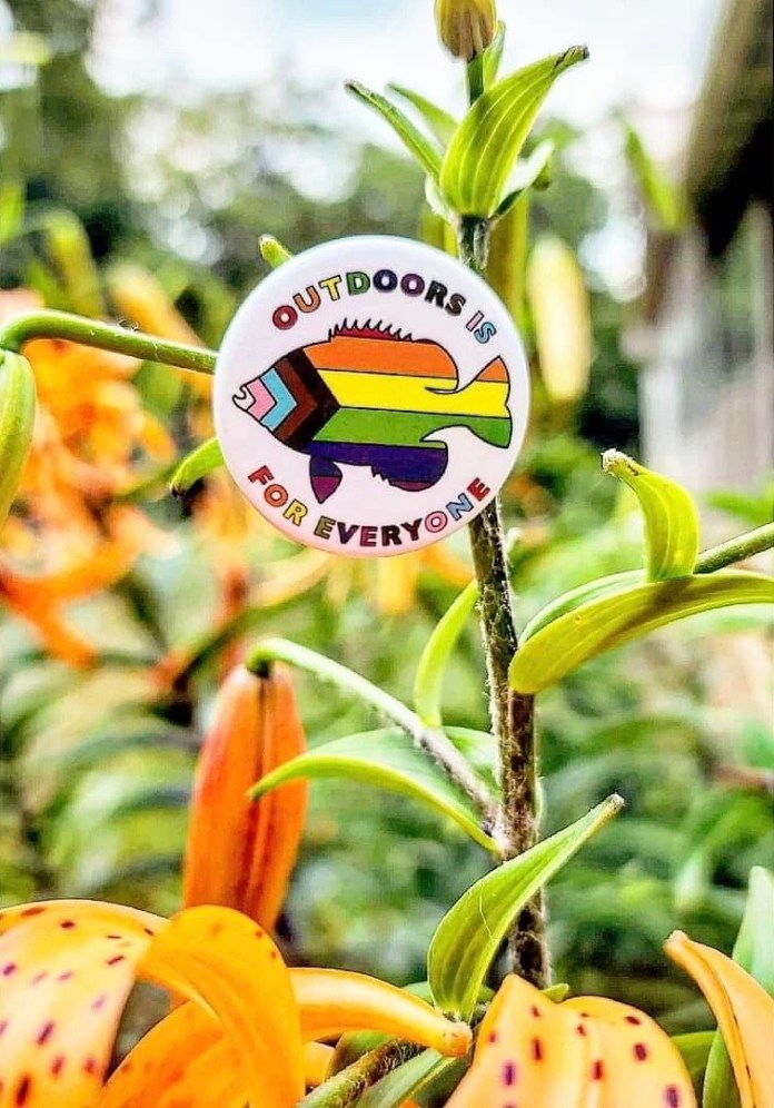 Outdoors is for Everyone Button