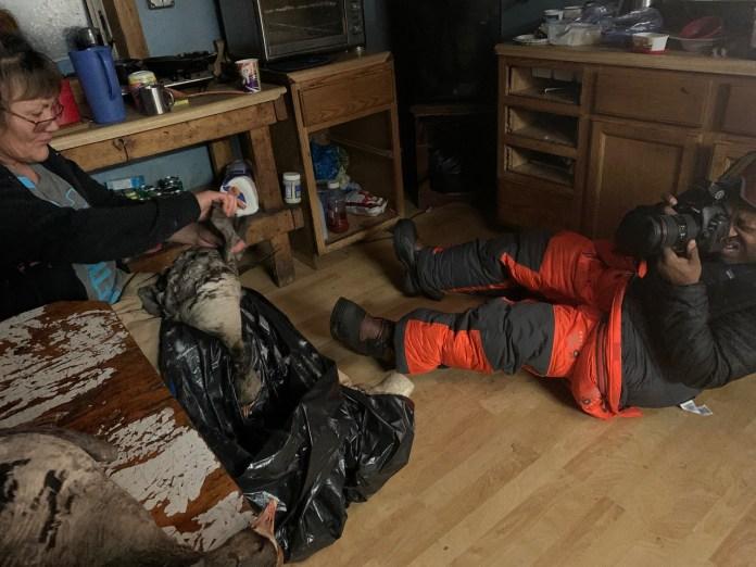 Chad Brown Arctic Indoor Shoot