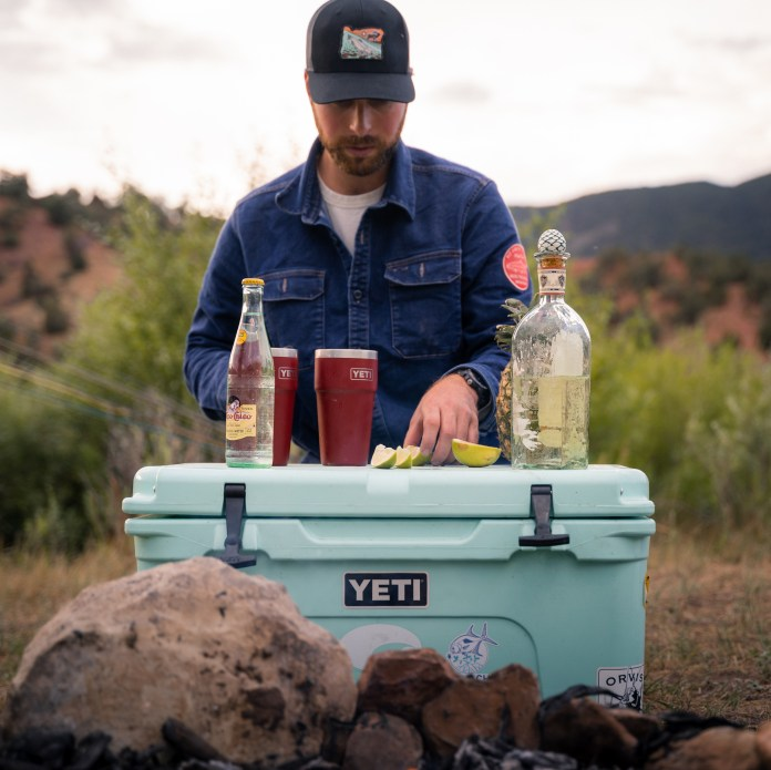 Yeti Tundra and Cocktails