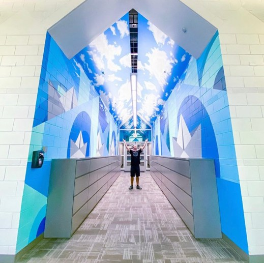 Rem Robinson Indoor Mural