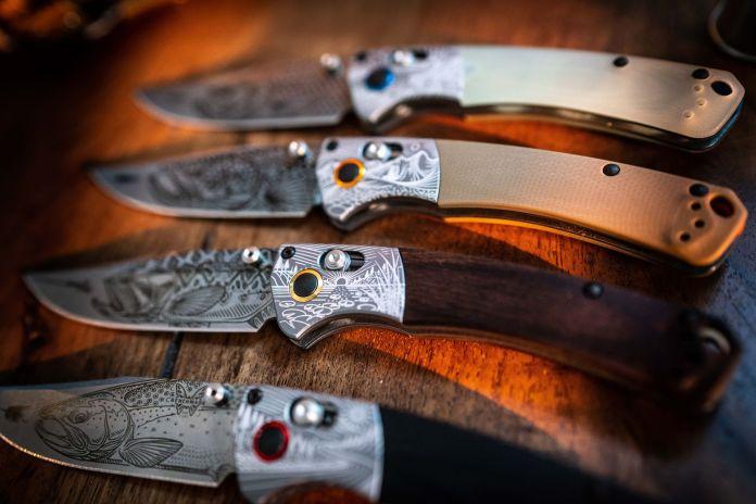 a few knives