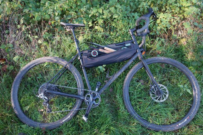 bike with rod