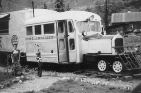 The Galloping Goose in 1952.<br /> Photo credits: Town of Telluride