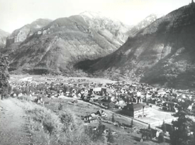 A photo of Telluride taken in about 1900.<br /> Photo credits: Town of Telluride