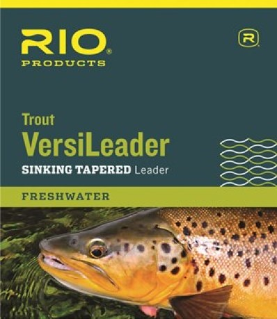 Details about  /AIRFLO POLYLEADER TROUT 8/' FOOT FAST SINK BROWN LONG-LASTING FLY FISHING LEADER