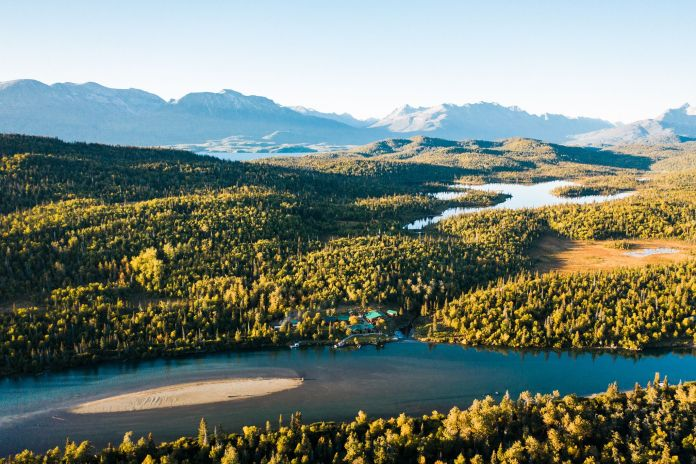A perfect place to fish for rainbow trout in Alaska