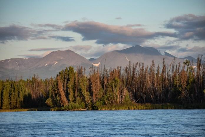 kenai river alaska mountains
