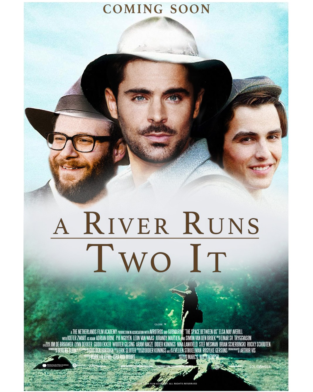 A river runs two it poster release