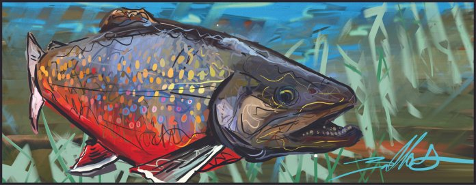 How Dirty Western Style Inspired a New Take on Fish Art – An Interview With Artist, B.A DALLAS
