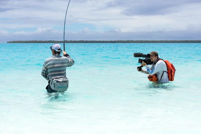Tetiaroa Angler and Videographer