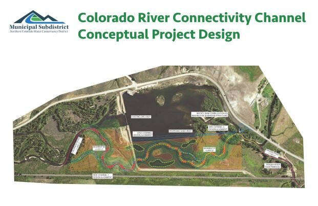 Design of the rerouting around Windy Gap Dam and Resevoir.