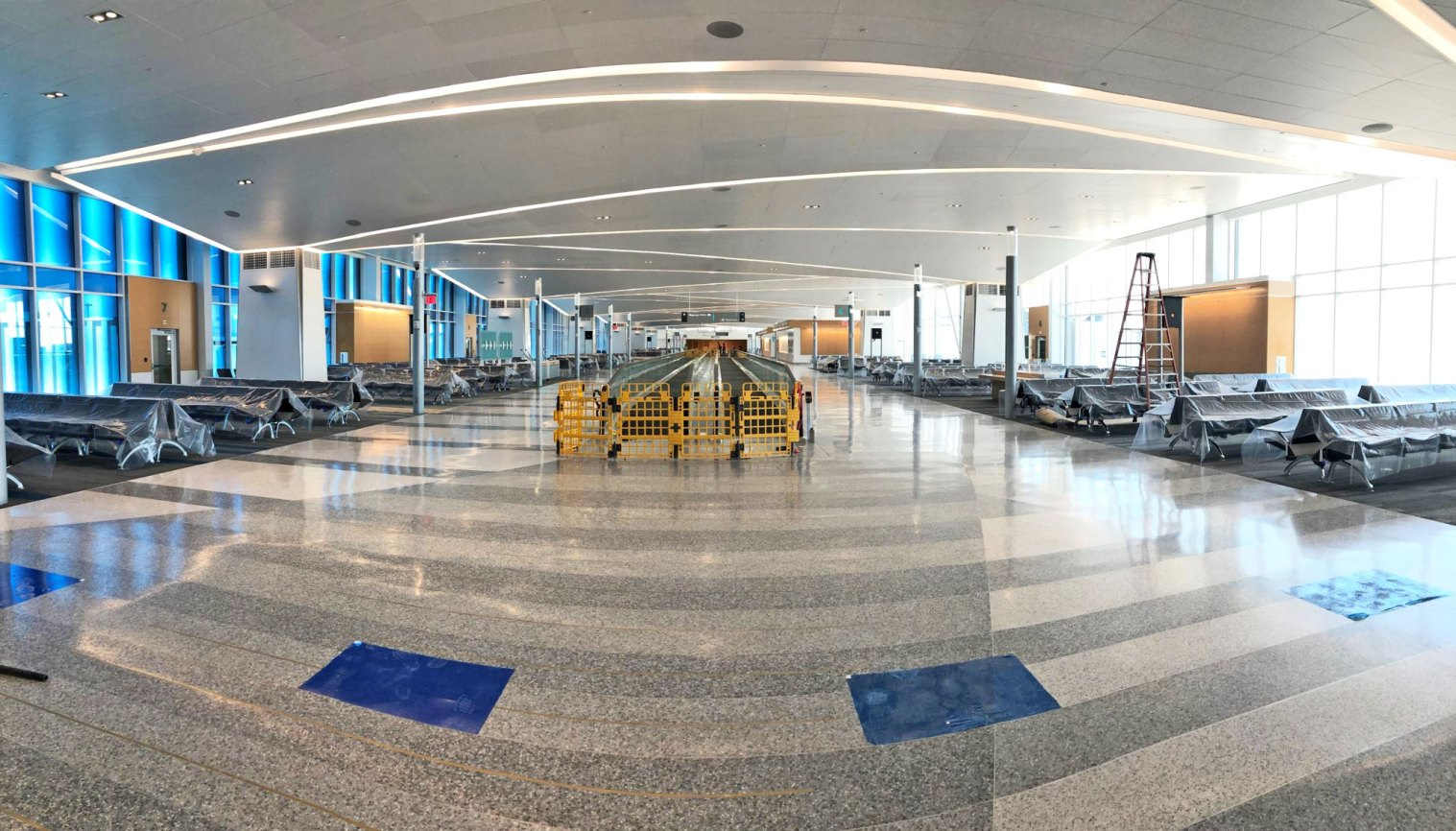 May 2021 B Concourse Wide Shot