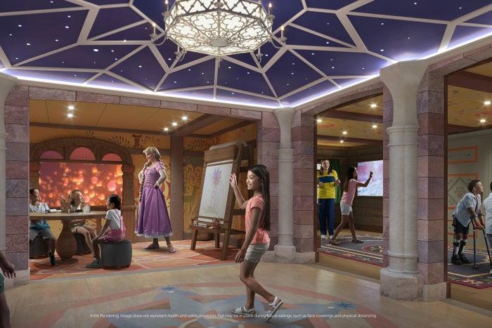 Disney Wish Disneys Oceaneer Club Fairytale Hall