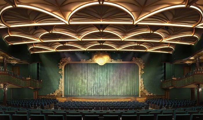 Disney Wish theater