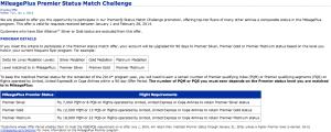 United Status Match Challenge