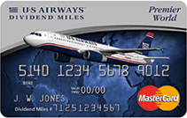 Improved Sign Up Bonus: Earn 40,000 Dividend Miles with Your First Purchase on the The US Airways® Premier World MasterCard®