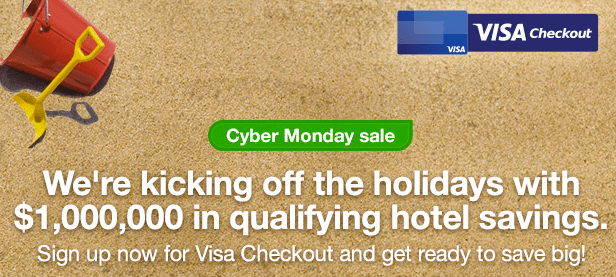 *Cyber Monday* $100 off Orbitz Hotel Booking (Visa Checkout Required)