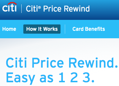 Citi Price Rewind: How to Save Money on Your Next Purchase