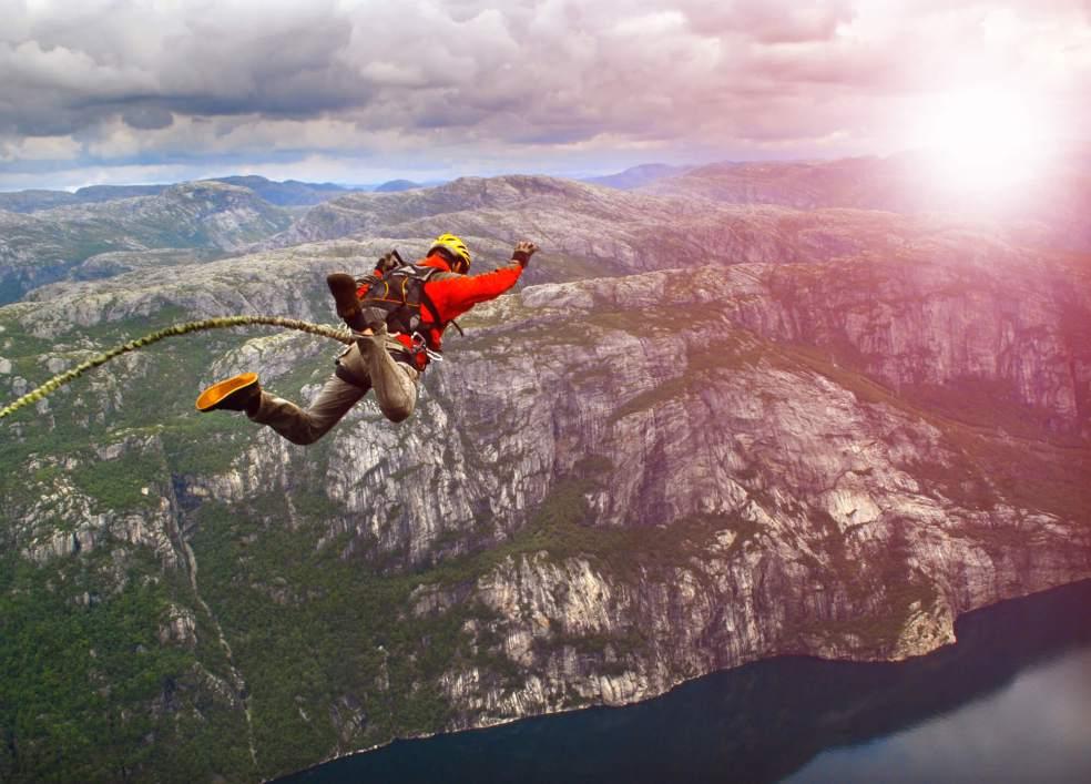Adrenalina e Endorfina Esportes radicais