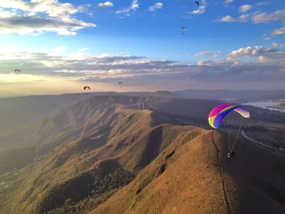 Aprender a voar de parapente