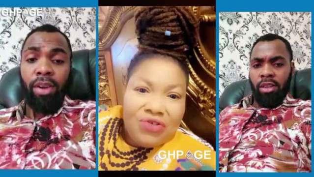 WATCH VIDEO : You chew human meat – Nana Agradaa spits venom on Rev Obofour
